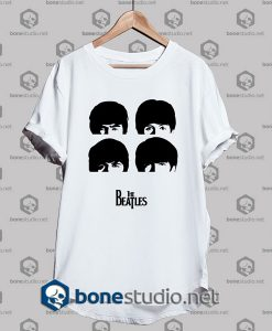 the beatles silhouette tshirt