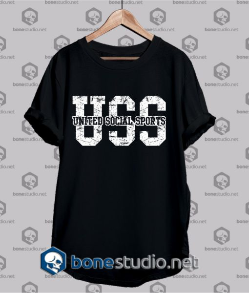 united social sports t shirt