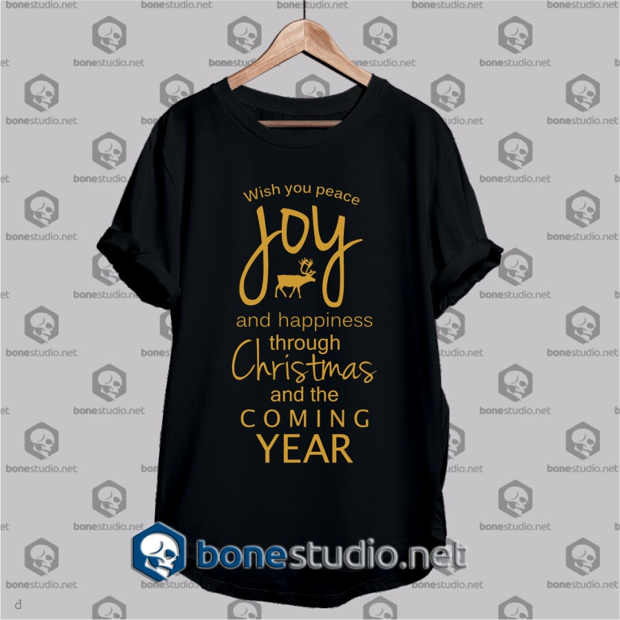 wish you peace joy t shirt