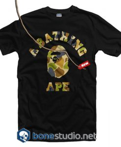 A Bathing Ape Army T Shirt