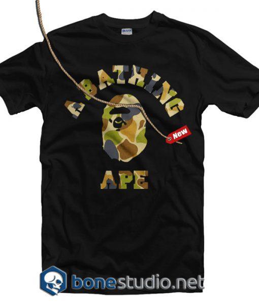 A Bathing Ape Army T Shirt