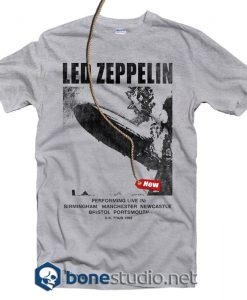 Led Zeppelin UK Tour 69 T Shirt