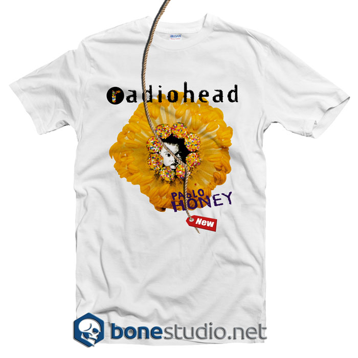 Radiohead Pablo Honey Band T Shirt
