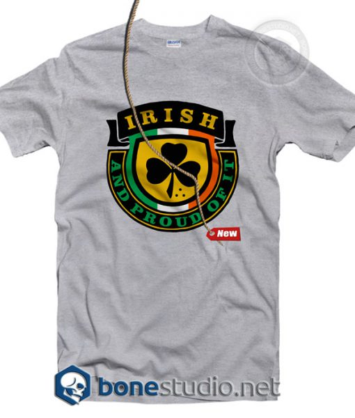 Irish And Proud T Shirt