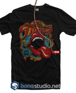 Vintage Tongue Rolling Stones T Shirt