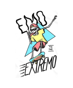 Emo To The Extremo T Shirt Skate
