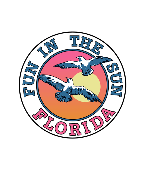 Fun In The Sun Florida Beach T shirt