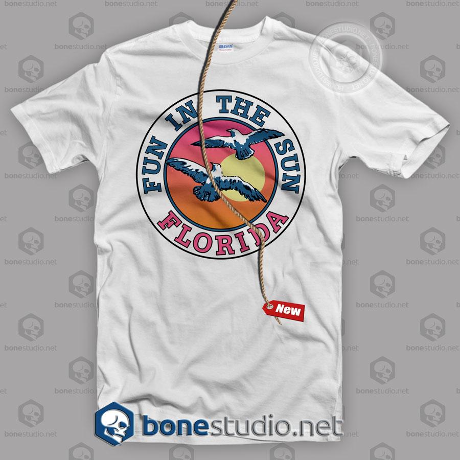 Fun In The Sun Florida Beach T shirt