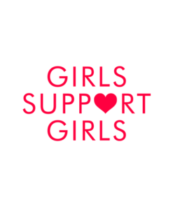 Girls Support Girls T Shirt