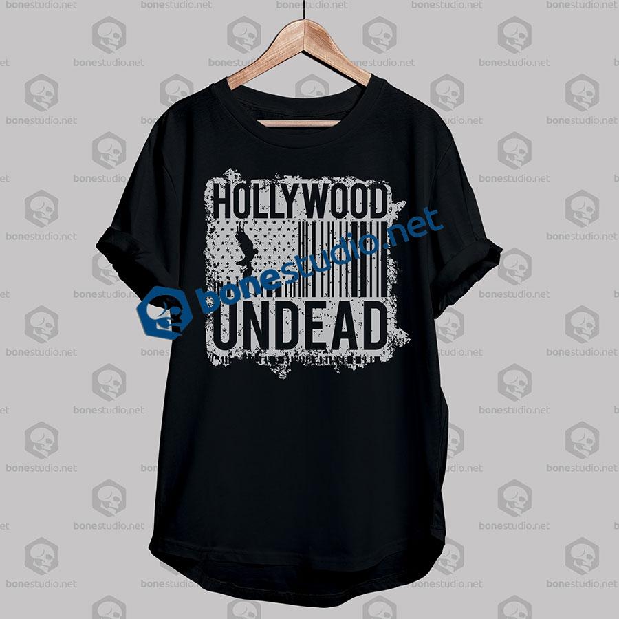 hollywood undead black tshirt