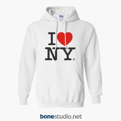 I Love New York Hoodies