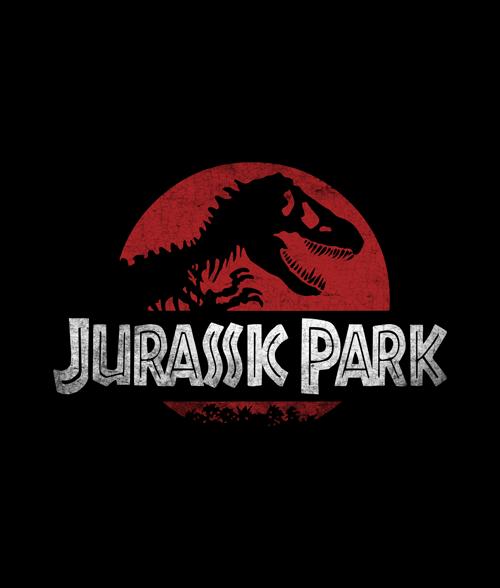 Jurassic Park Retro T Shirt