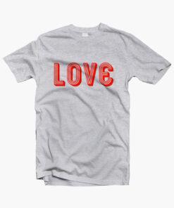 LOVE T Shirt sport grey