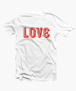 LOVE T Shirt white