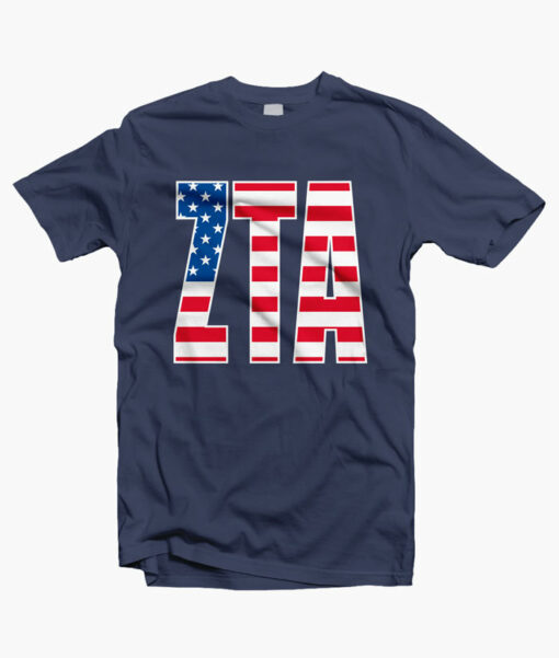Liberty And The Pursuit Of The Crown Front Navy Blue
