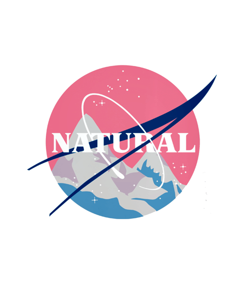 Natural T Shirt NASA