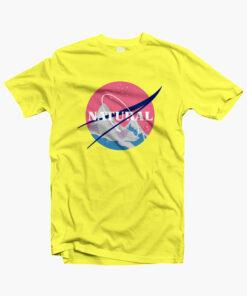 Natural T Shirt NASA yellow