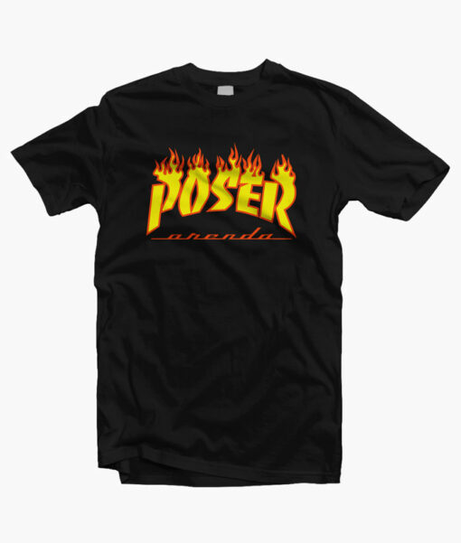 POSER Orenda Flame T Shirt