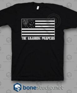 Smashing Pumpkins American Flag Band T Shirt