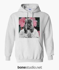 Tupac Shakur Floral Hoodie