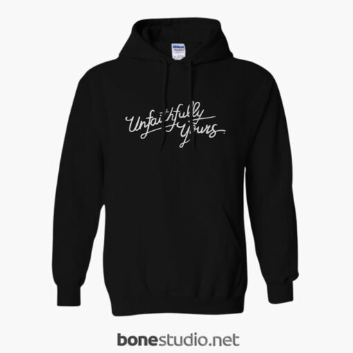Unfaithfully Yours Hoodie black