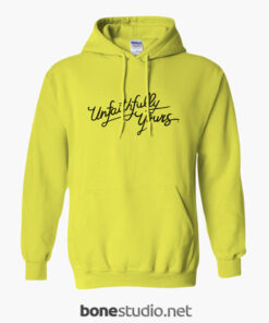 Unfaithfully Yours Hoodie yellow