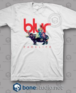Blur Parklife Band T Shirt