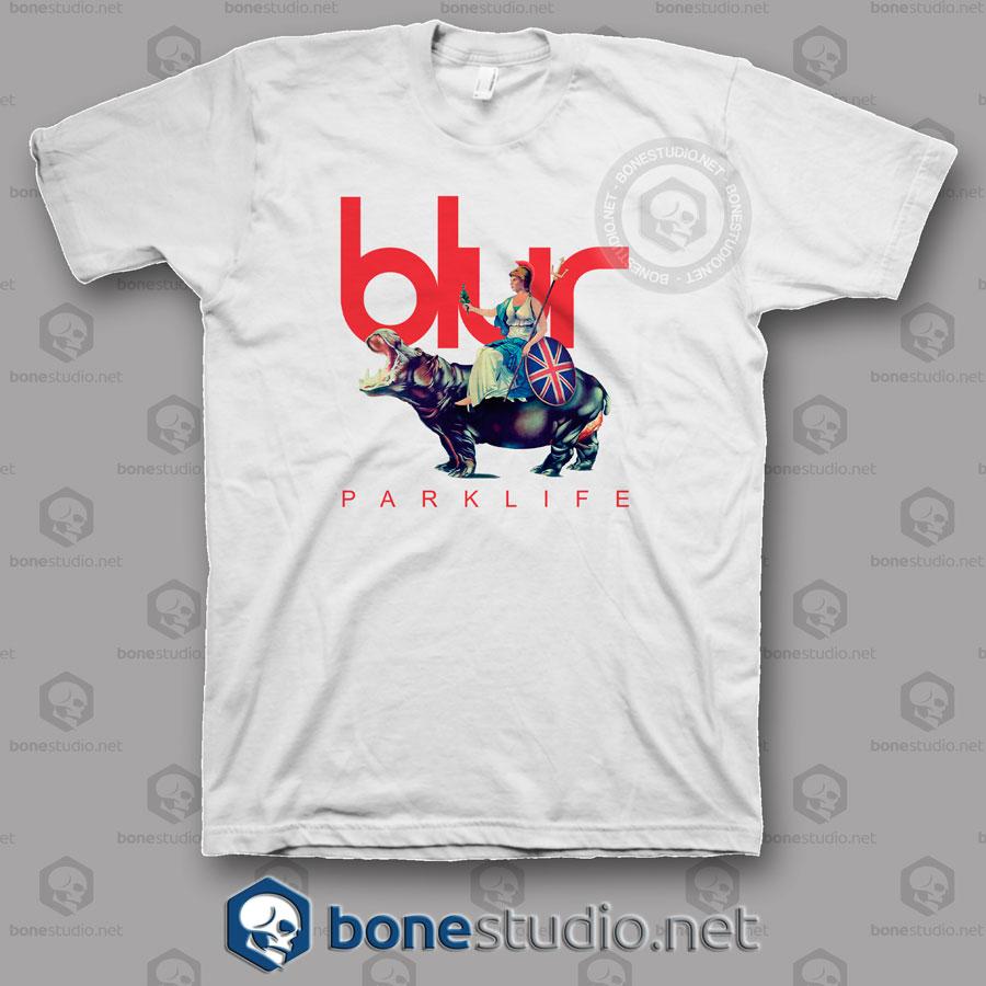 Blur Parklife Band T Shirt