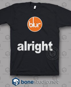 Blur Alright Band T Shirt