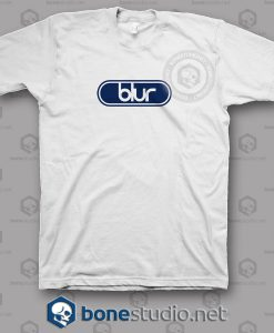 Blur Logo Ellipse Band T Shirt