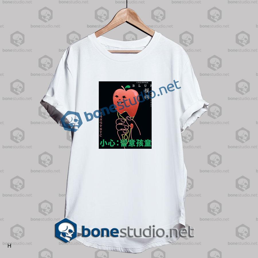 Blur Converse Rubber Track Live Band T Shirt