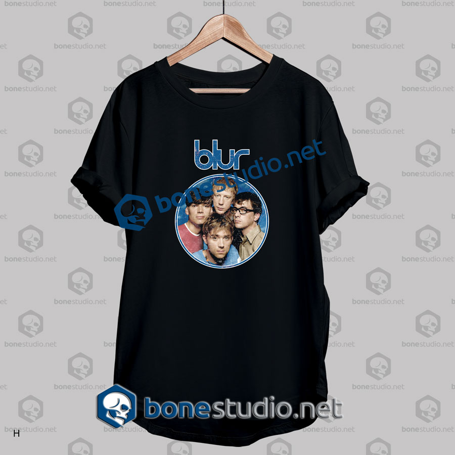 Blur Mad Frame Circle Band T Shirt