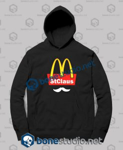 Christmas Santa Claus Mc Donald Funny Hoodies