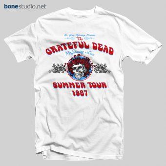 Grateful Dead Summer Tour 1987 T Shirt