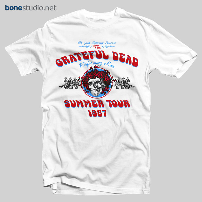 Grateful Dead Summer Tour 1987 T Shirt