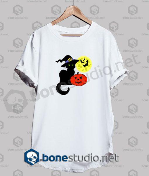 Halloween Cat I Hate It Funny T Shirt