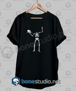 Halloween Human Skeleton Funny T Shirt