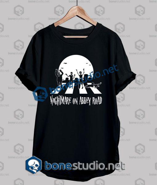 Halloween Zombie Abbey Road Funny T Shirt