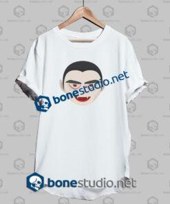 happy halloween dracula funny t shirt white