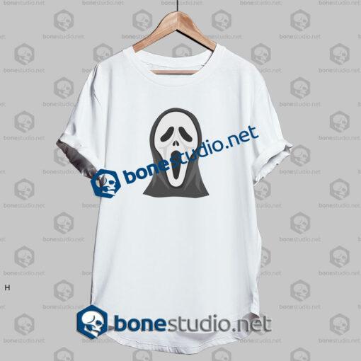 happy halloween horror funny t shirt white