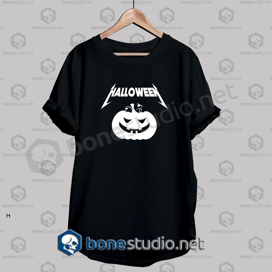 Happy Halloween Metallica Funny T Shirt