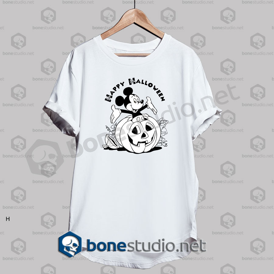 Happy Halloween Mickey Church Funny T Shirt