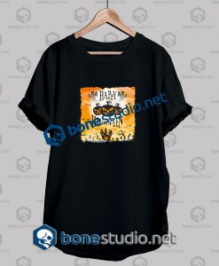 Happy Halloween Orange Grunge Funny T Shirt