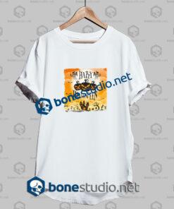 Happy Halloween Orange Grunge Funny T Shirt