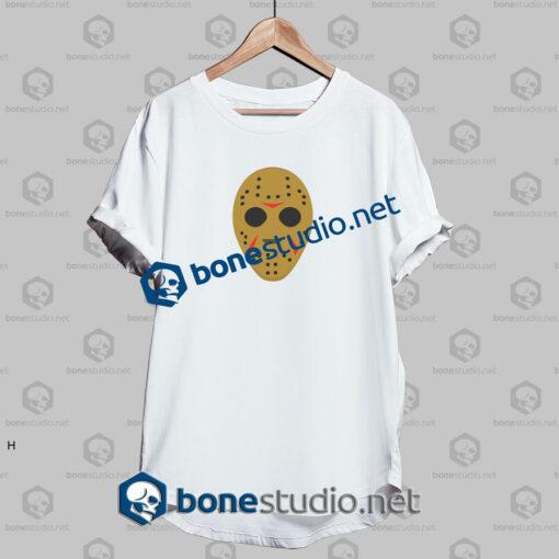 helloween dark mask funny t shirt white