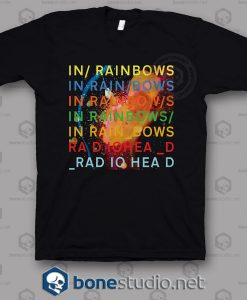 Radiohead In Rainbow Band T Shirt