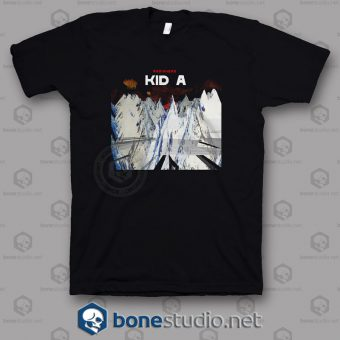 Radiohead Kid A Band T Shirt