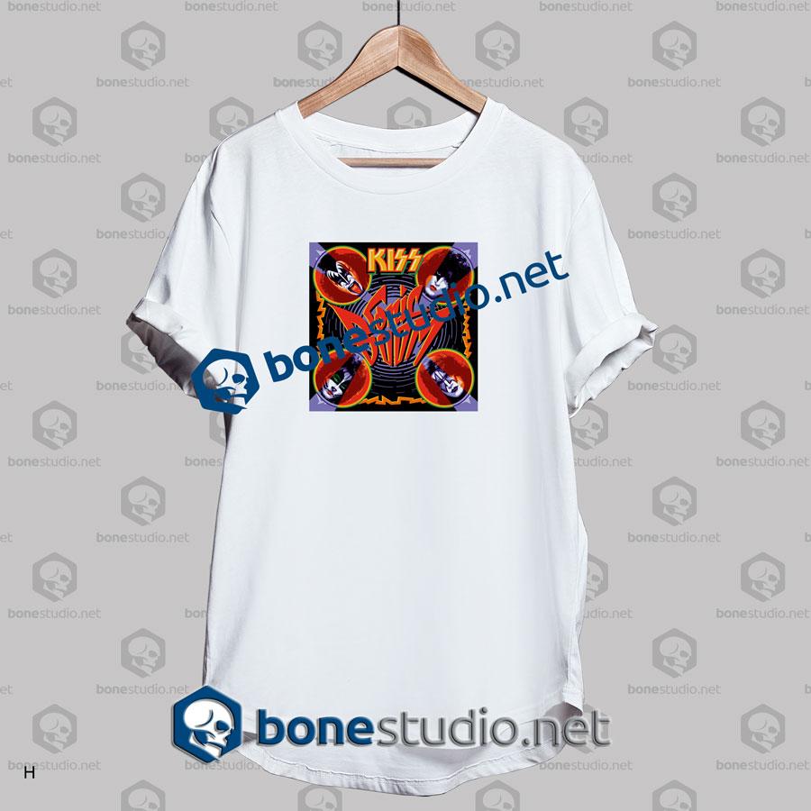 Kiss Sonic Boom Band T Shirt