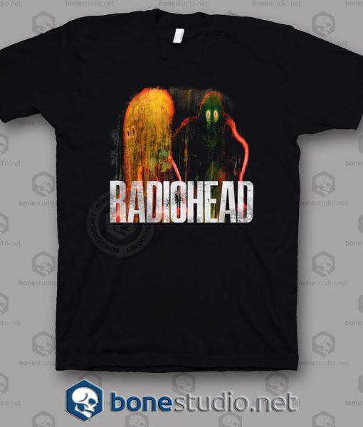 Radiohead The King Of Limbs Band T Shirt