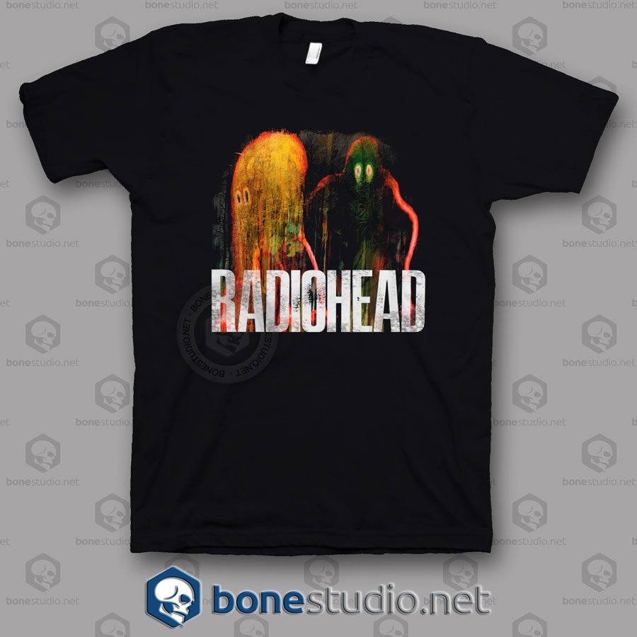 Radiohead The King Of Limbs Band T Shirt
